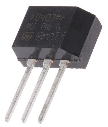 STMicroelectronics , X0403MF 1AA2, Thyristor, 600V 4A 3-Pin, TO-202 (10)