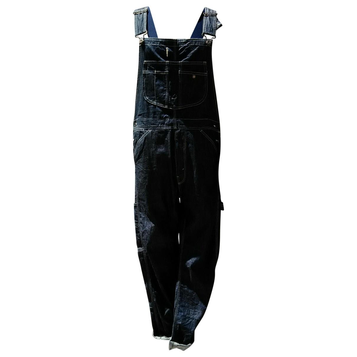 Comme Des Garcons \N Blue Cotton Jeans for Men 44 FR