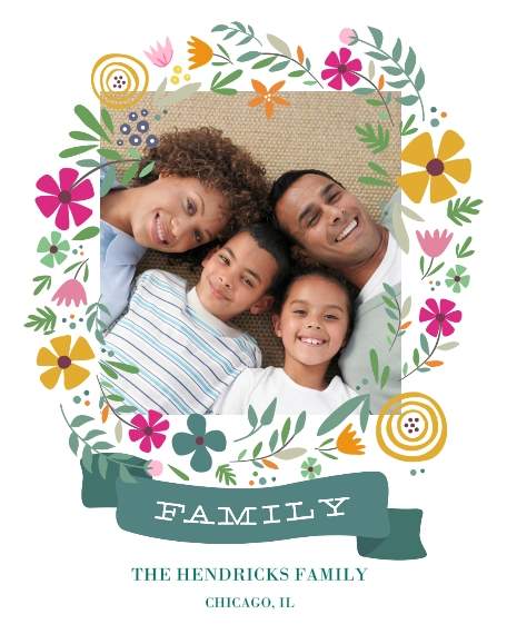 Family + Friends 16x20 Poster(s), Board, Home Décor -Spring Wreath