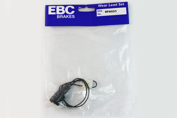 EBC Brakes EFA033 Wear Leads Front Disc Brake Pad Wear Sensor FMSI D493 BMW Front