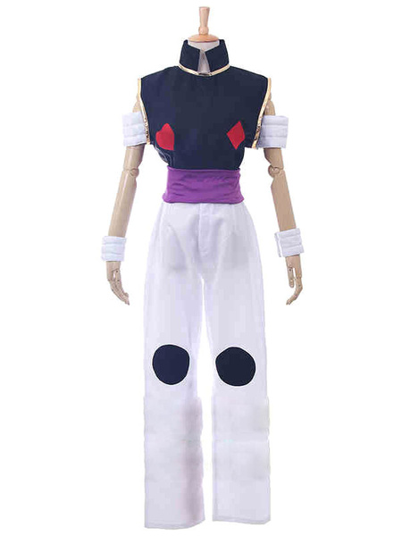 Milanoo HUNTER×HUNTER Hisoka Morow Halloween Cosplay Costume Halloween