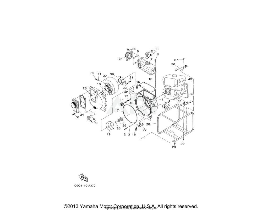 Yamaha OEM YJA-74310-50-30 BOLT, HEXAGON WITH WASHER