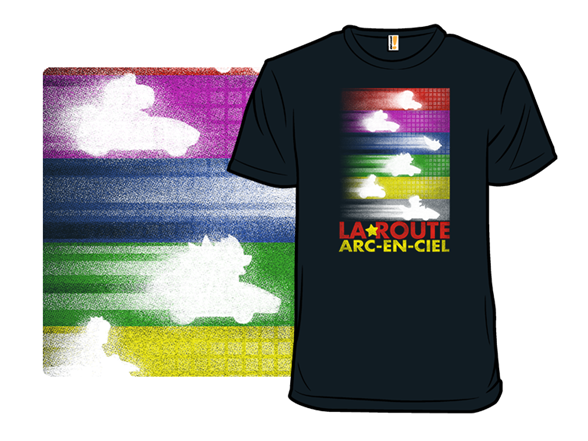 La Route Arc-en-ciel T Shirt
