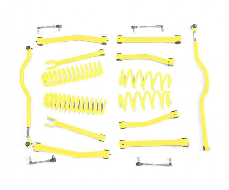 Steinjager J0047800 Lift Kit, Right Hand Drive Wrangler JK 2007-2018 2.5 Inch Lemon Peel