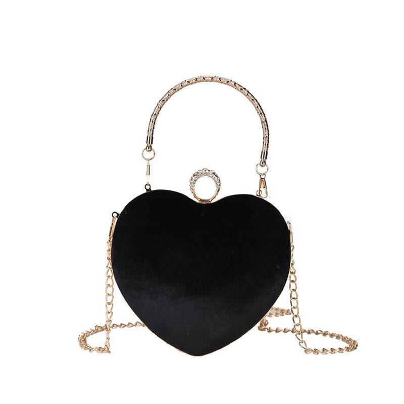 Ericdress Chain Velour Plain Tote Bag