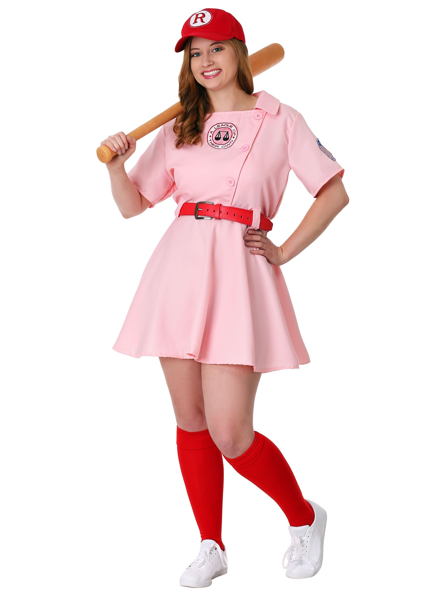 Plus Size League of Their Own Dottie Costume | 90s Movies Costume