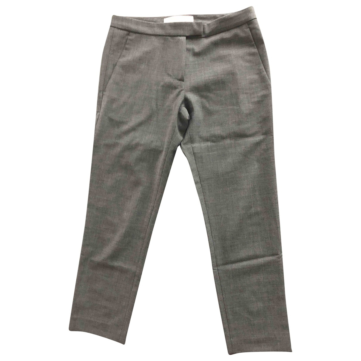 Merci \N Grey Trousers for Women 38 IT
