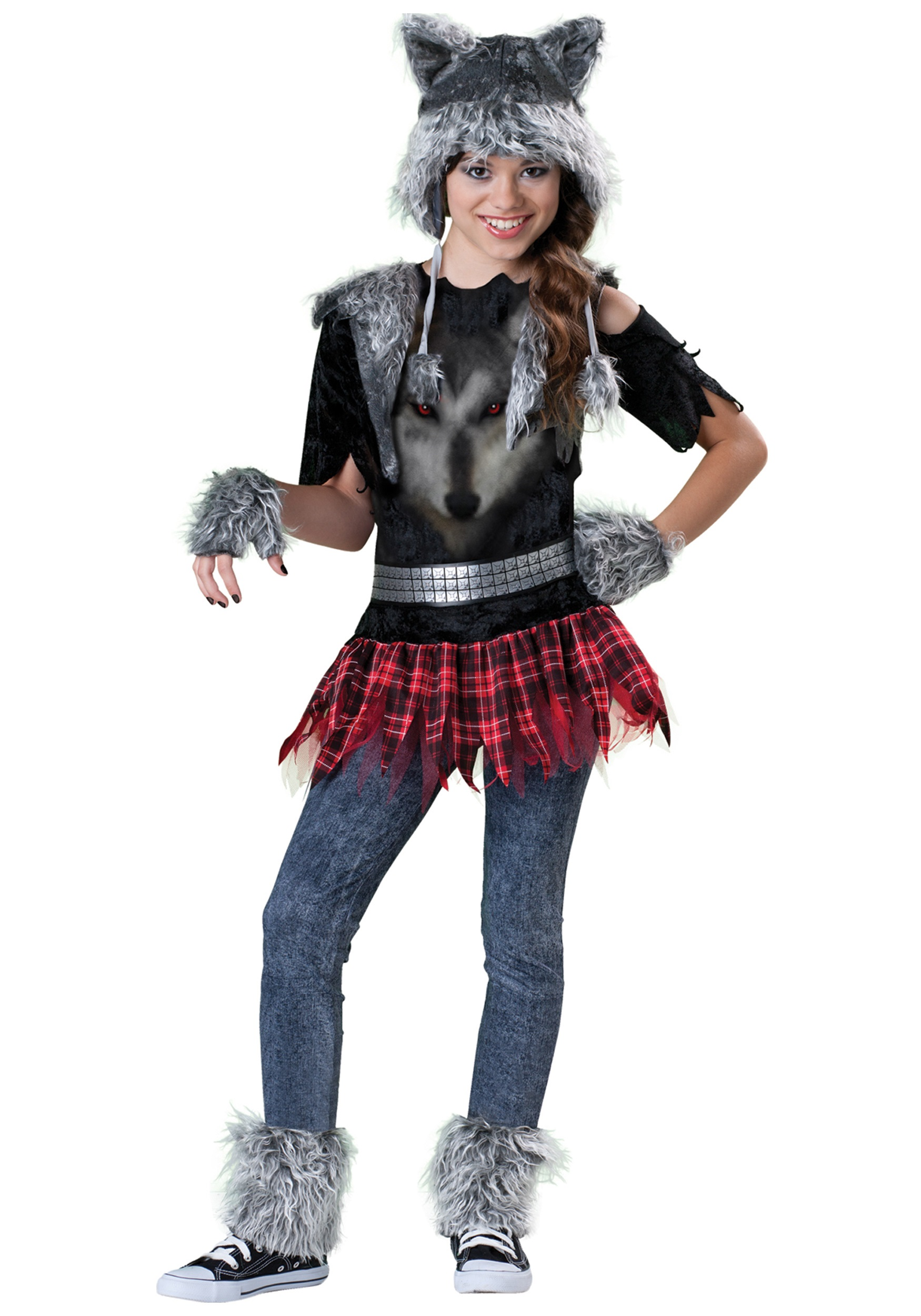 Tween Werewolf Costume | Werewolf Halloween Costume for Girls