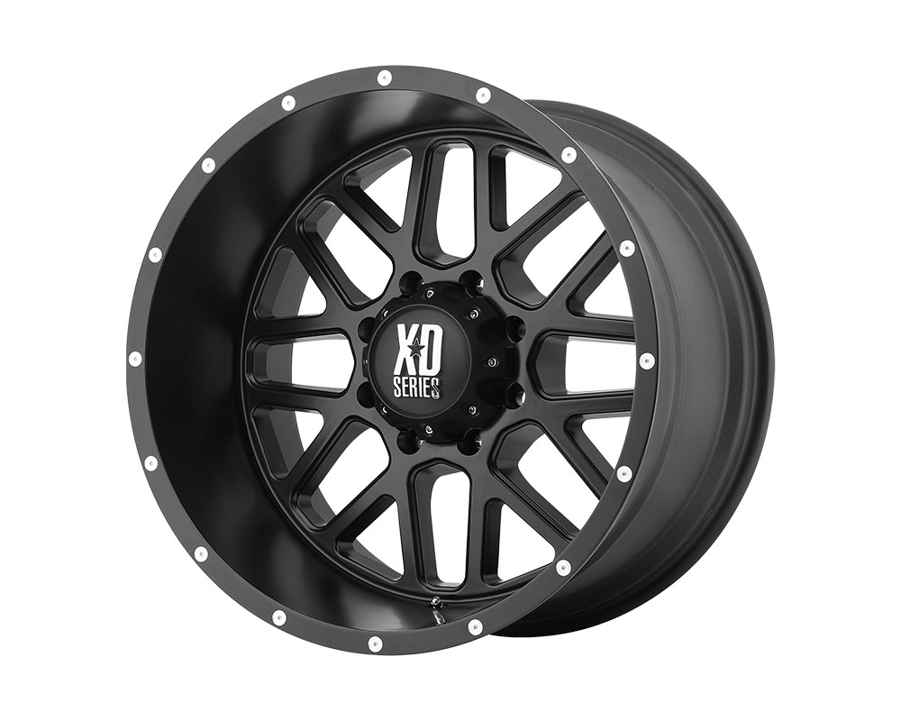 XD Series XD82029068700 XD820 Grenade Wheel 20x9 6x6x139.7 +0mm Satin Black