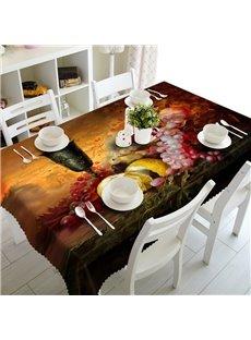 European Style Fruits Prints Design Home Decorative 3D Tablecloth