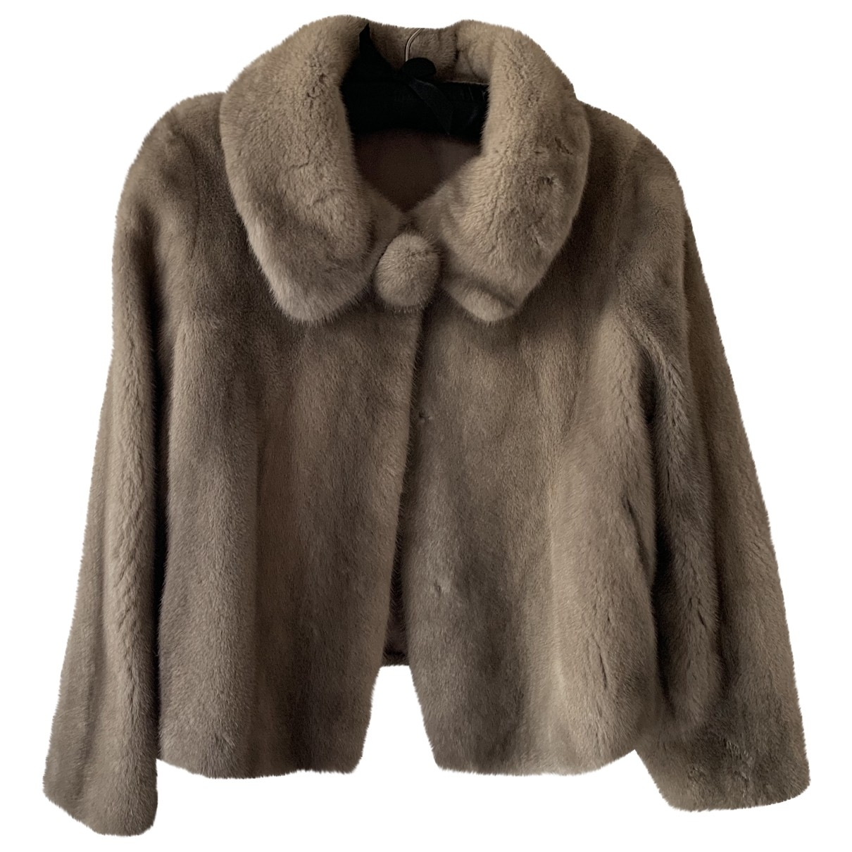 Yves Salomon \N Grey Mink jacket for Women 36 FR