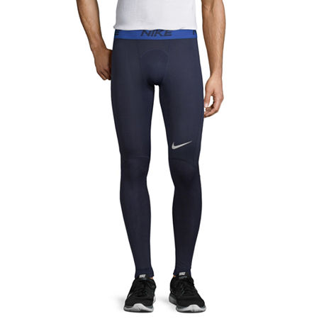 Nike Mens Regular Fit Workout Pant, Small , Blue