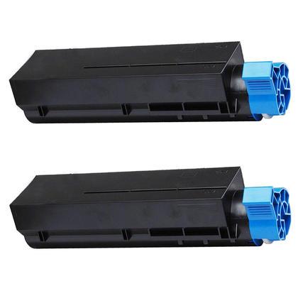 Compatible Okidata 44992405 cartouche de toner noire - boite economique - 2/paquet