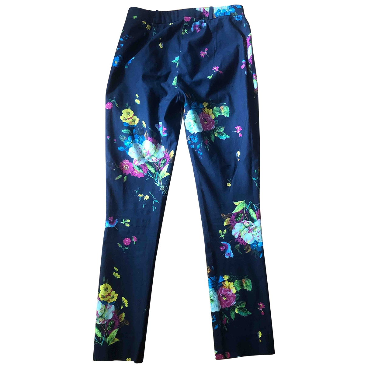 Erdem \N Multicolour Trousers for Women 36 FR