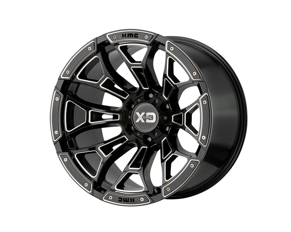 XD Series XD84181085318N XD841 Boneyard Wheel 18x10 5x5x139.7 -18mm Gloss Black Milled