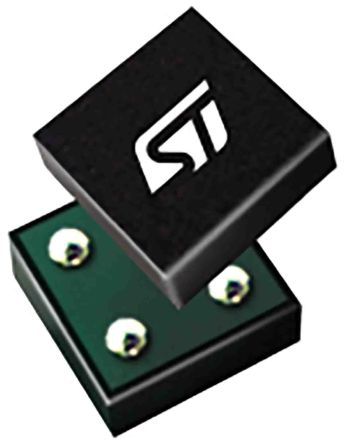 STMicroelectronics , 1.8 V Linear Voltage Regulator, 200mA, 1-Channel, ±3% 4-Pin, Flip Chip STLQ020J18R (3000)