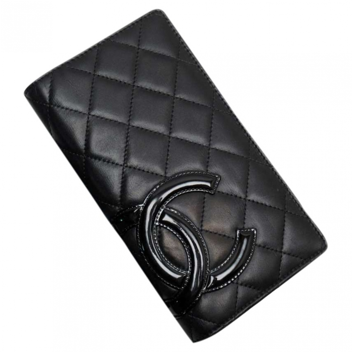 Chanel Cambon Black Leather Purses, wallet & cases for Women \N