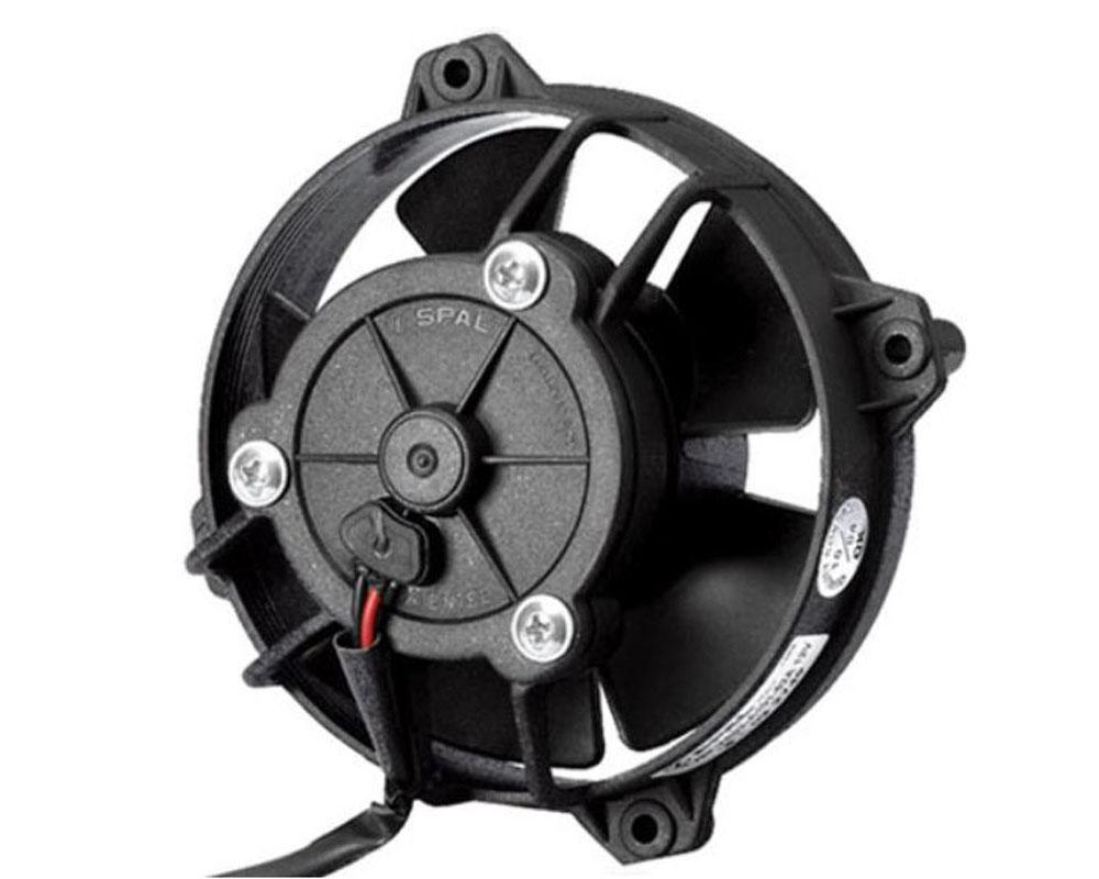 SPAL 30103009 Electric Fan 124 CFM   Pusher Fan Design   Paddle Style Blades