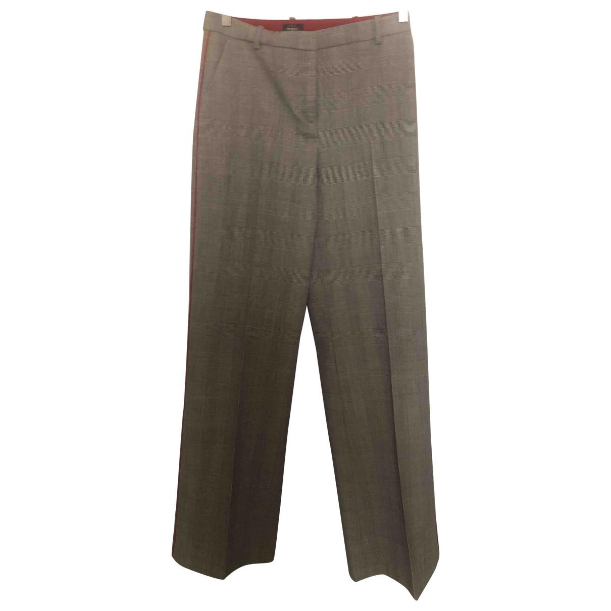 Pinko \N Wool Trousers for Women 40 IT