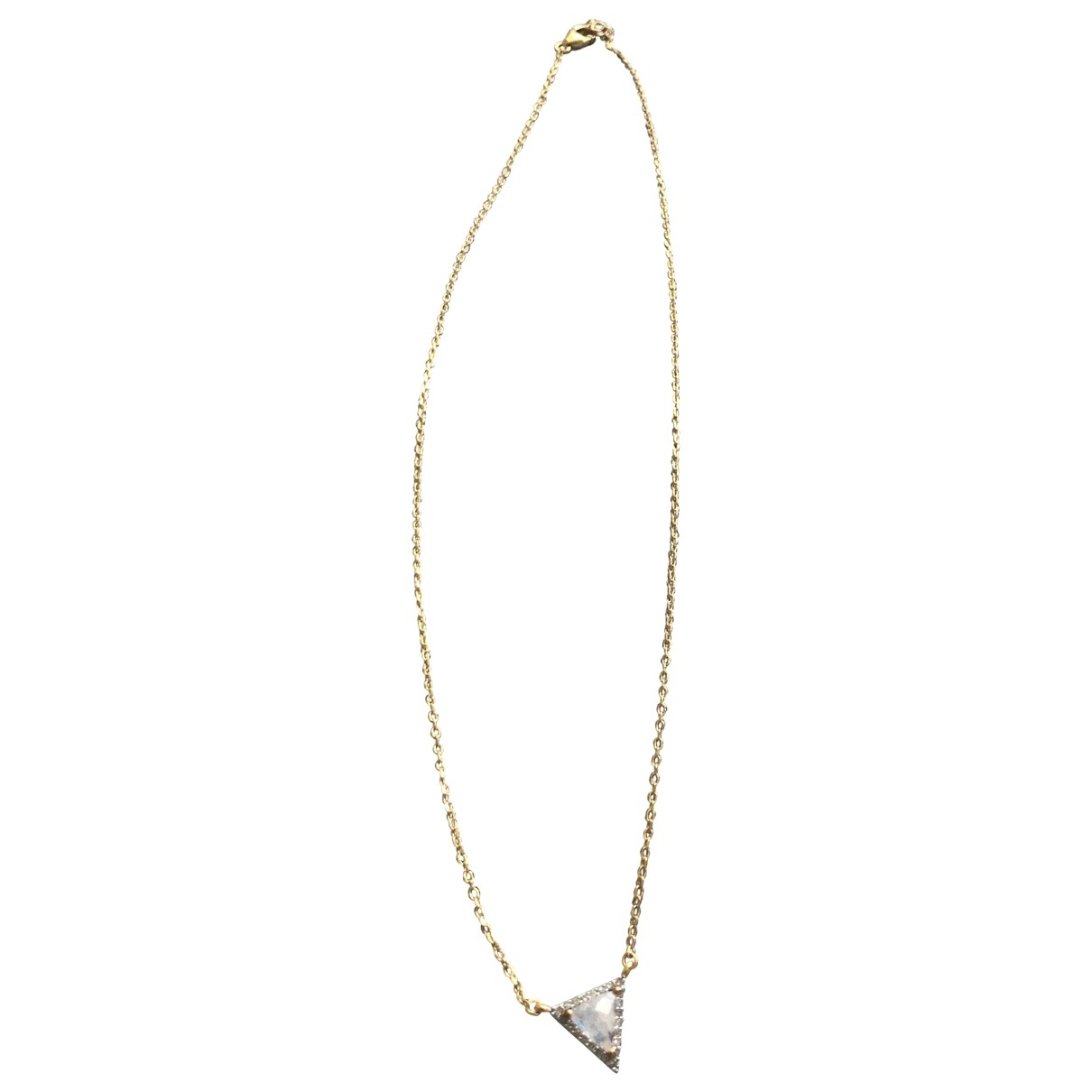 Non Signé / Unsigned \N Gold Gold plated pendant for Women \N