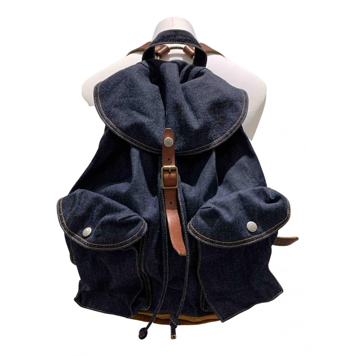 Ralph Lauren Double Rl \N Blue Denim - Jeans bag for Men \N