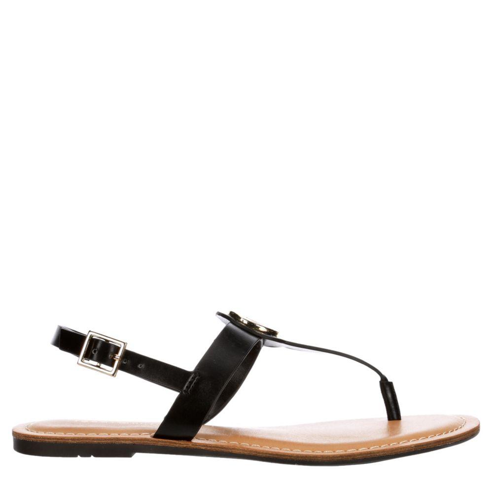 Tommy Hilfiger Womens Ladene Flat Sandal