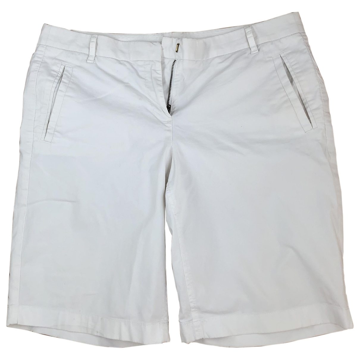 J.crew \N White Cotton - elasthane Shorts for Women 44 IT