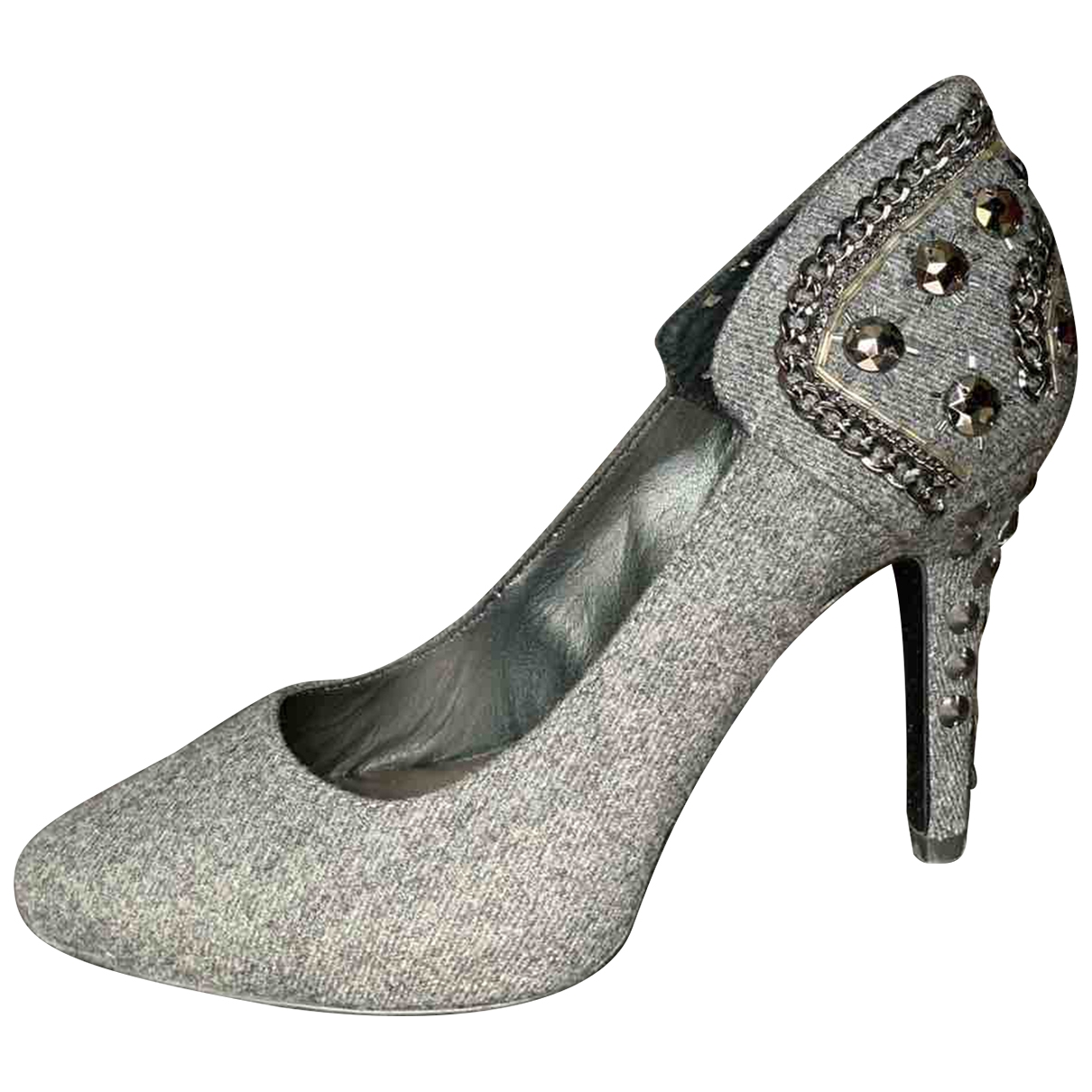 Liu.jo \N Grey Cloth Heels for Women 39 EU