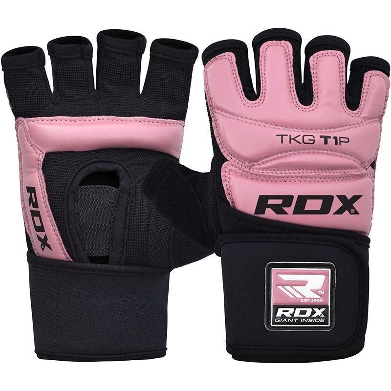 RDX T1 Women Half Finger Taekwondo Gloves Pink / Black