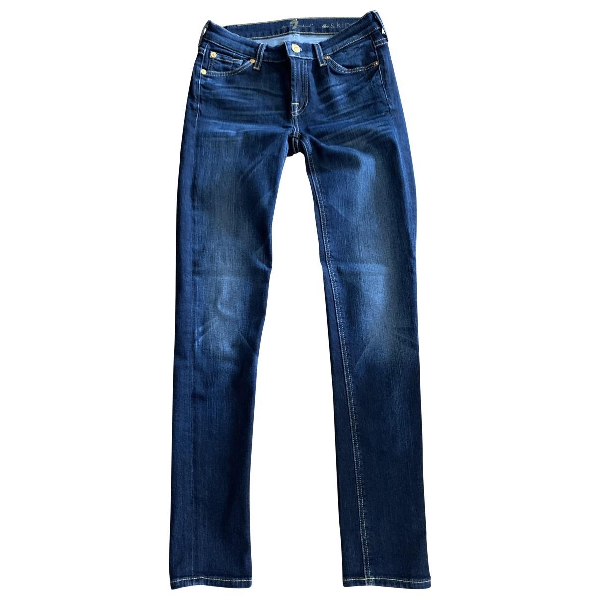 Seventh Wonderland \N Blue Denim - Jeans Jeans for Women 25 US
