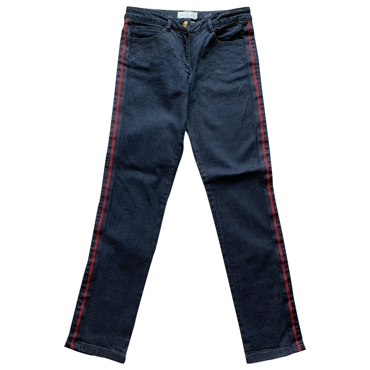 Jacadi \N Blue Cotton Trousers for Kids 12 years - XS FR