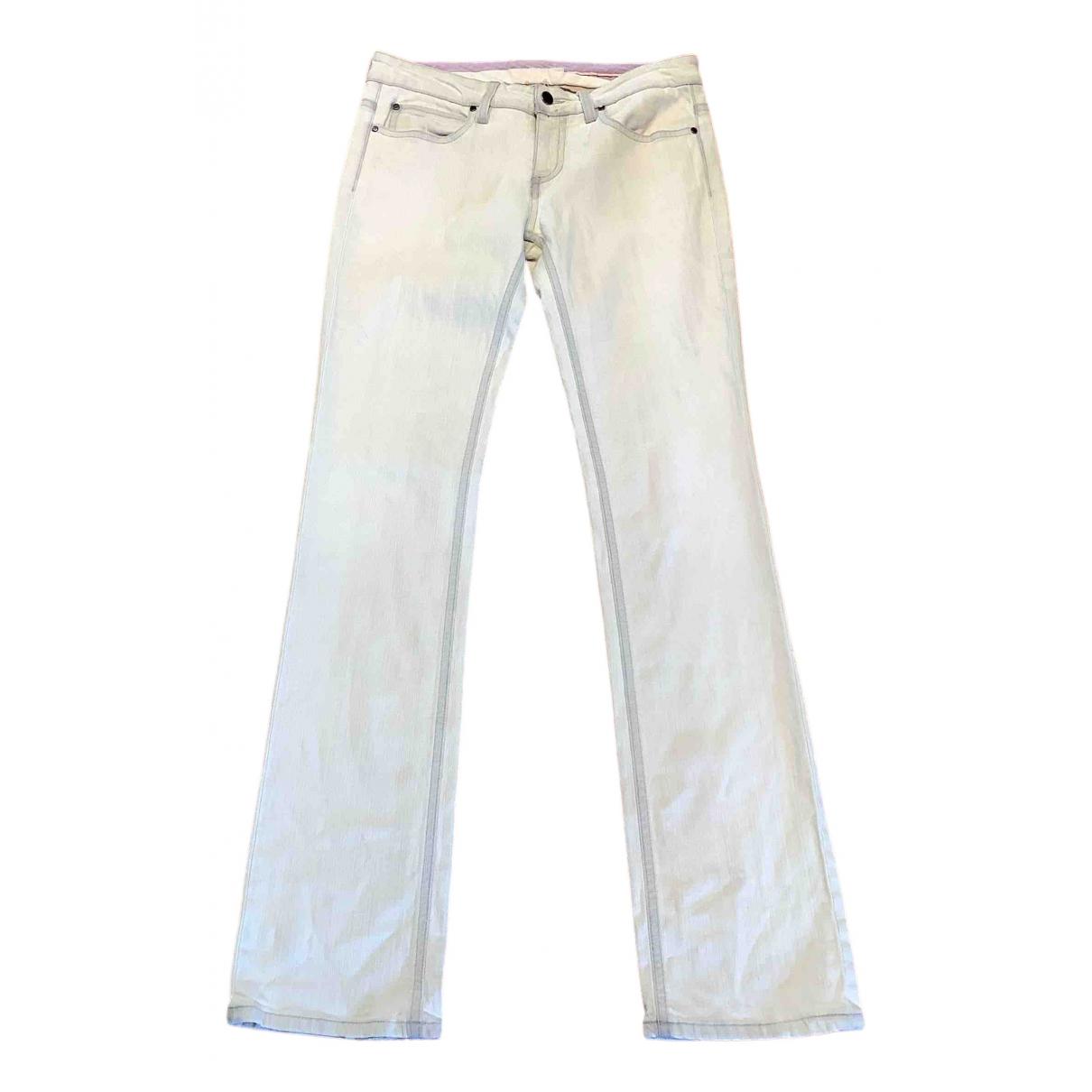 Stella Mccartney \N White Denim - Jeans Trousers for Women 12 UK