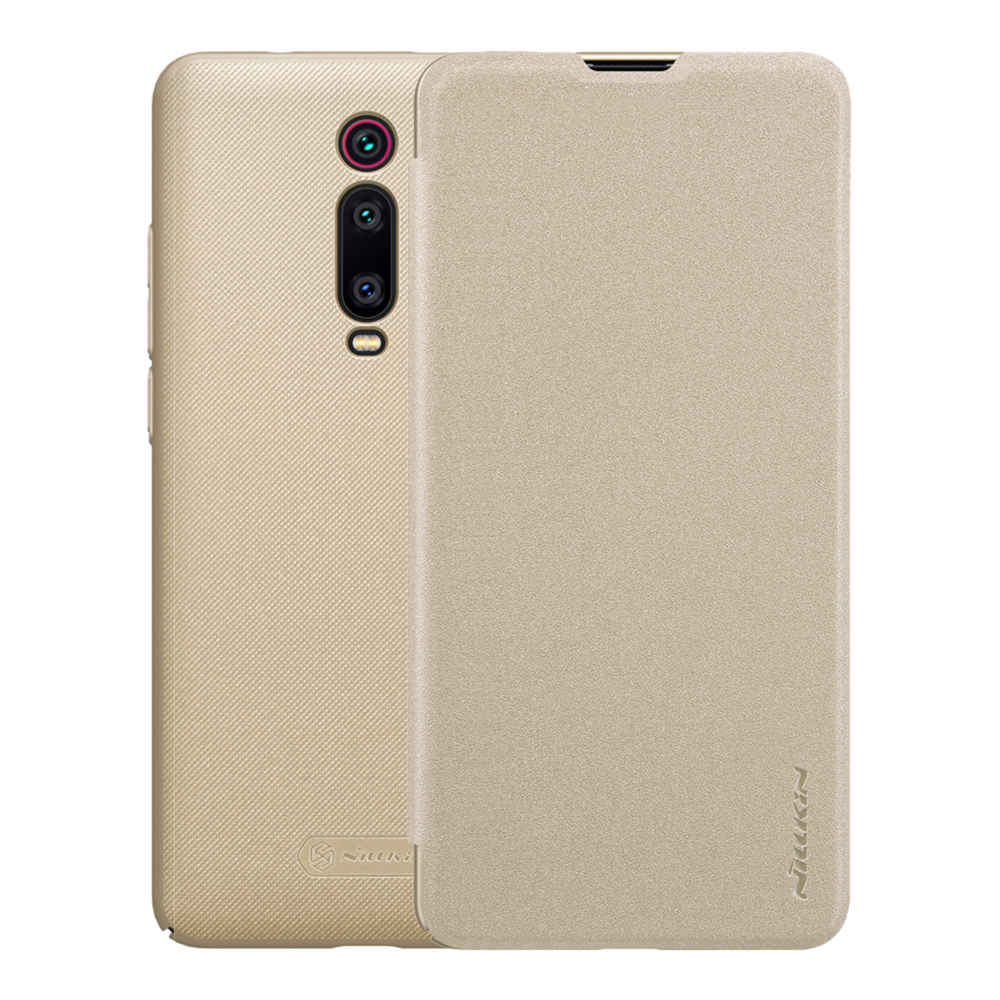 Nillkin Modern PU Leather Case Protective Back Cover For Xiaomi Redmi K20 / K20 Pro - Gold