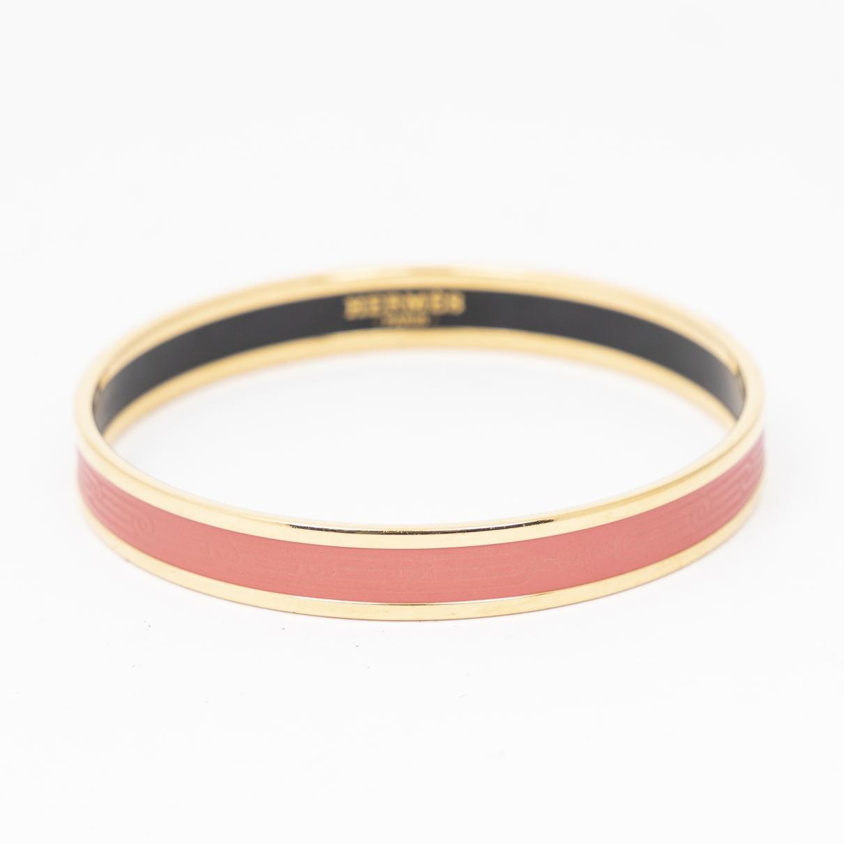 Hermès \N Pink Metal bracelet for Women \N