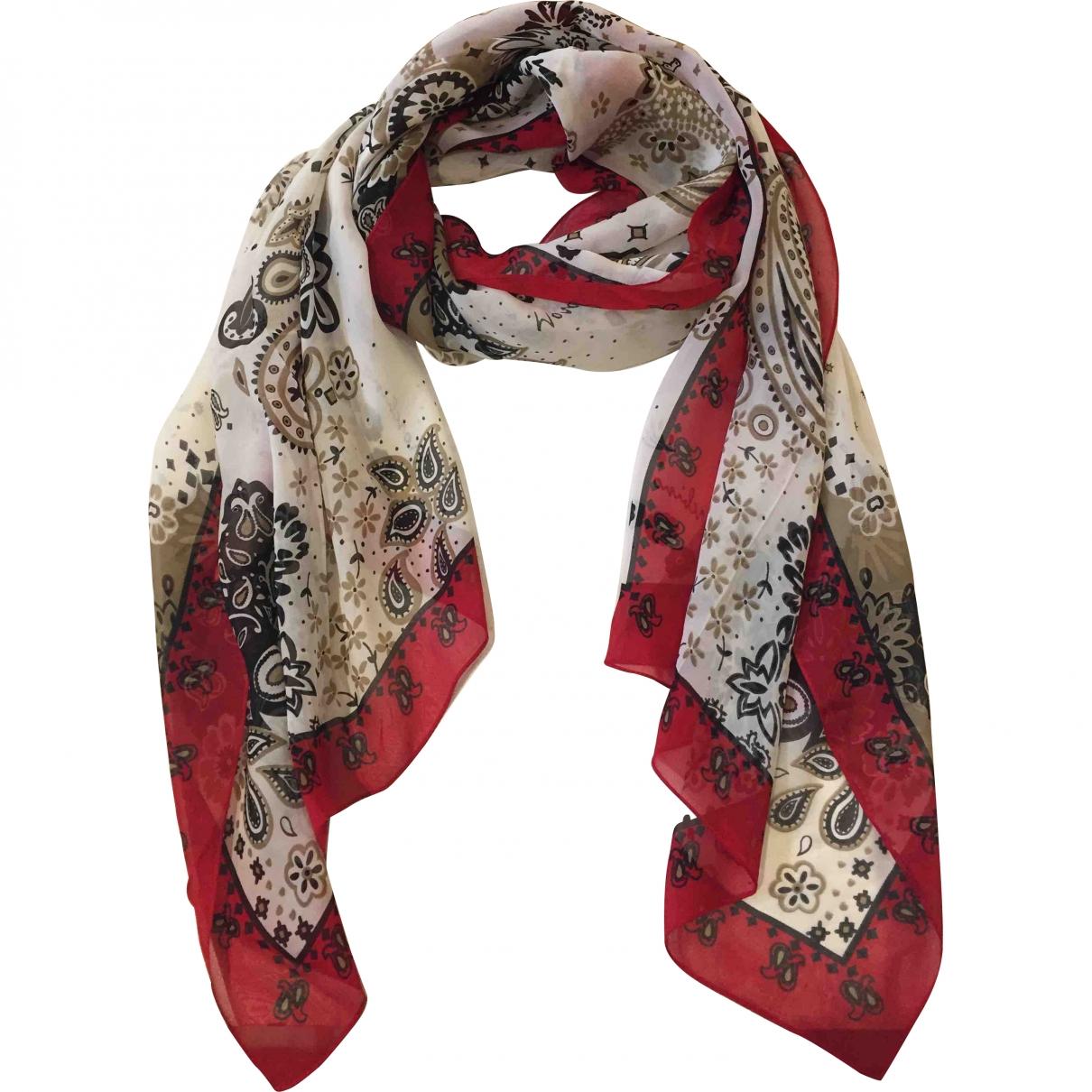 Moschino \N Ecru Silk scarf for Women \N