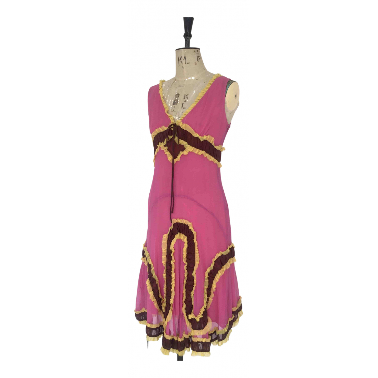 Chloé \N Pink Silk dress for Women S International