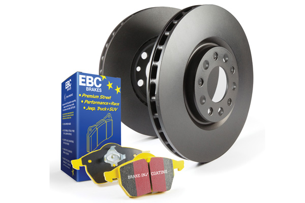 EBC Brakes S13KF1630 S13KF Kit Number Front Disc Brake Pad and Rotor Kit DP41239R+RK7005 Front