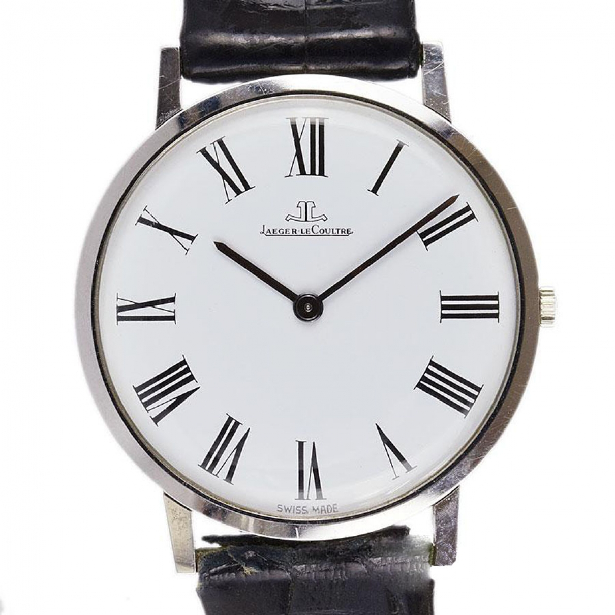 Jaeger-lecoultre Master Ultra Thin White Steel watch for Men \N