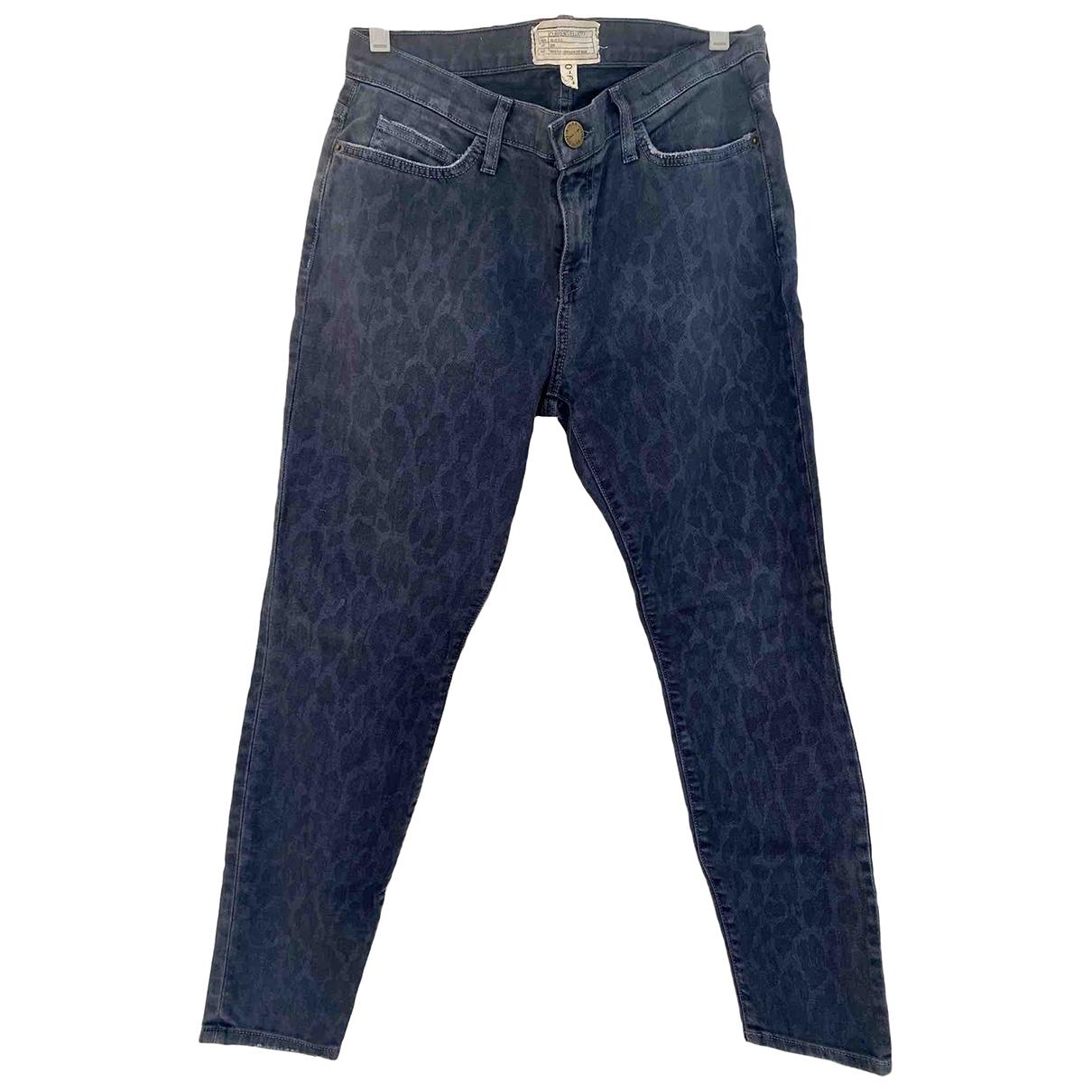 Current Elliott \N Blue Cotton Jeans for Women 29 US