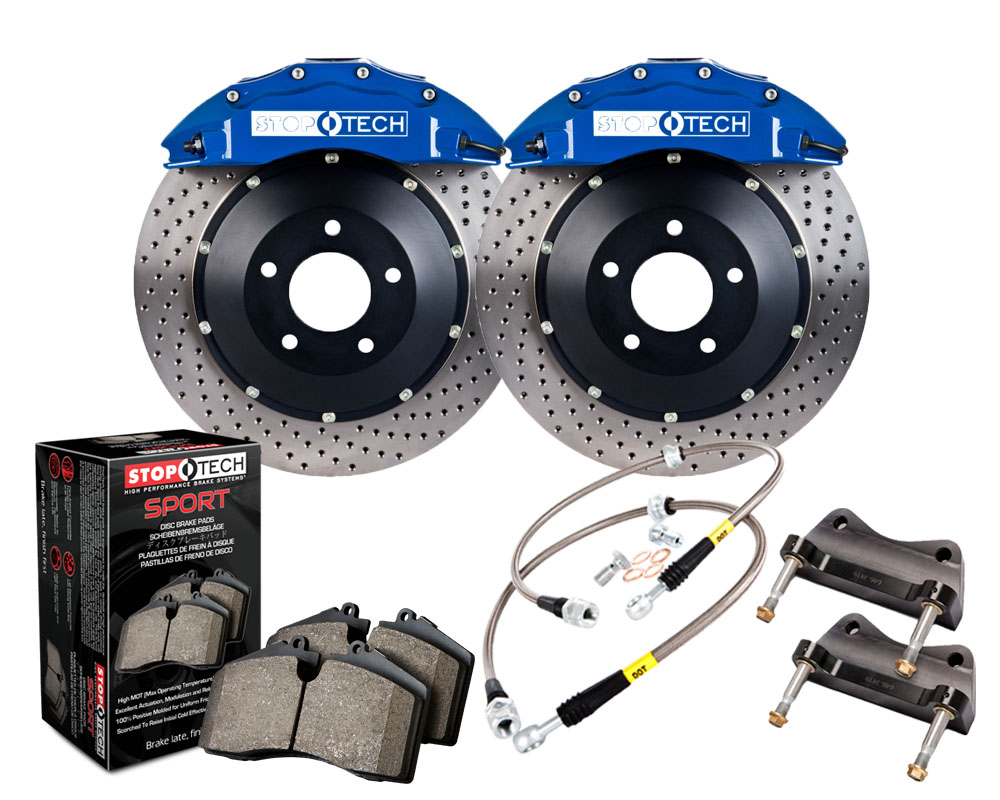 StopTech 83.625.6700.22 Big Brake Kit 2 Piece Rotor; Front Mitsubishi Front 2.0L 4-Cyl