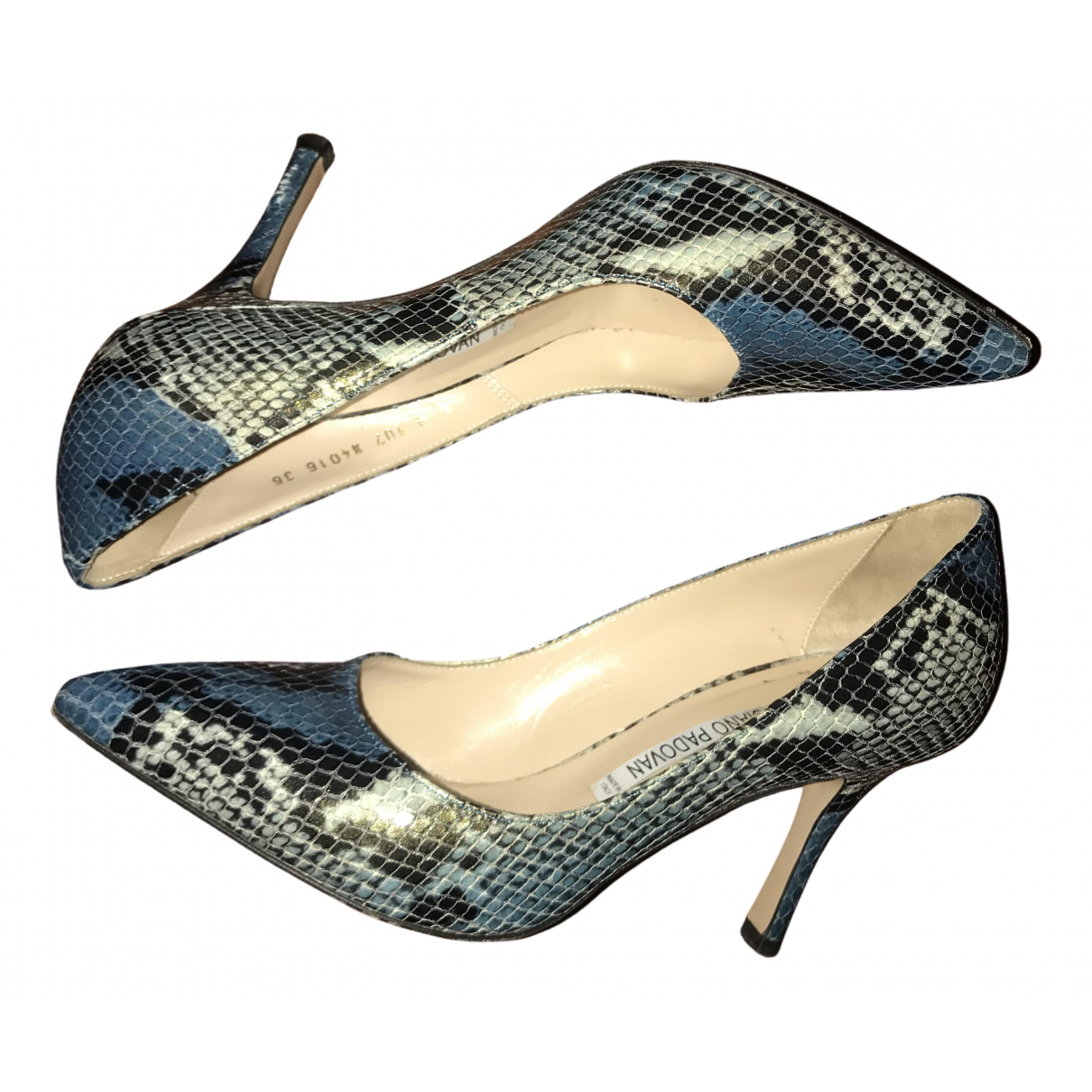 Luciano Padovan \N Multicolour Leather Heels for Women 36 EU