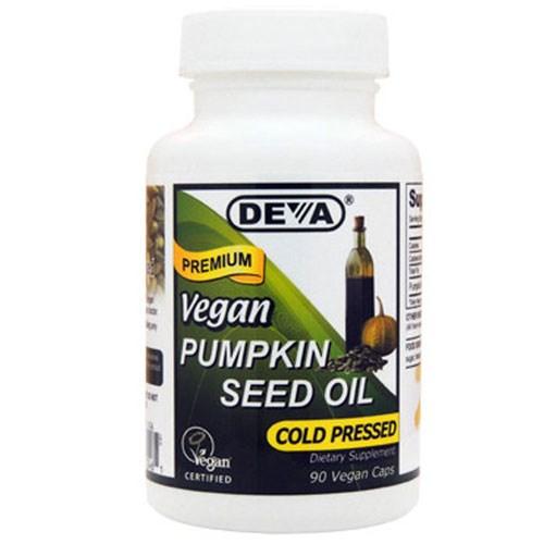 Vegan Pumpkin Seed Oil 90 Vcaps by Deva Vegan Vitamins
