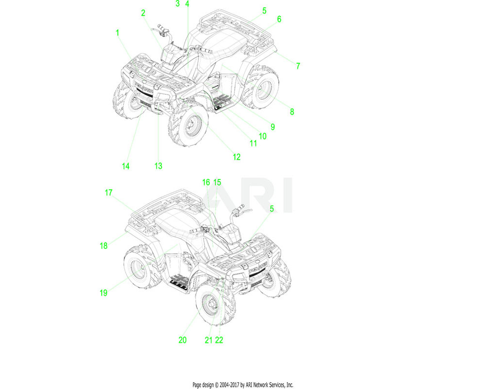 Polaris OEM 7178902 DECAL, FUEL RECOMMEND