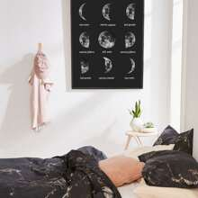 Moon Wall Art Print Without Frame