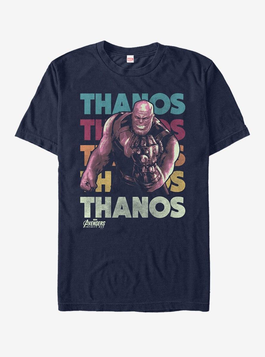 Marvel Avengers: Infinity War Thanos Repeat T-Shirt