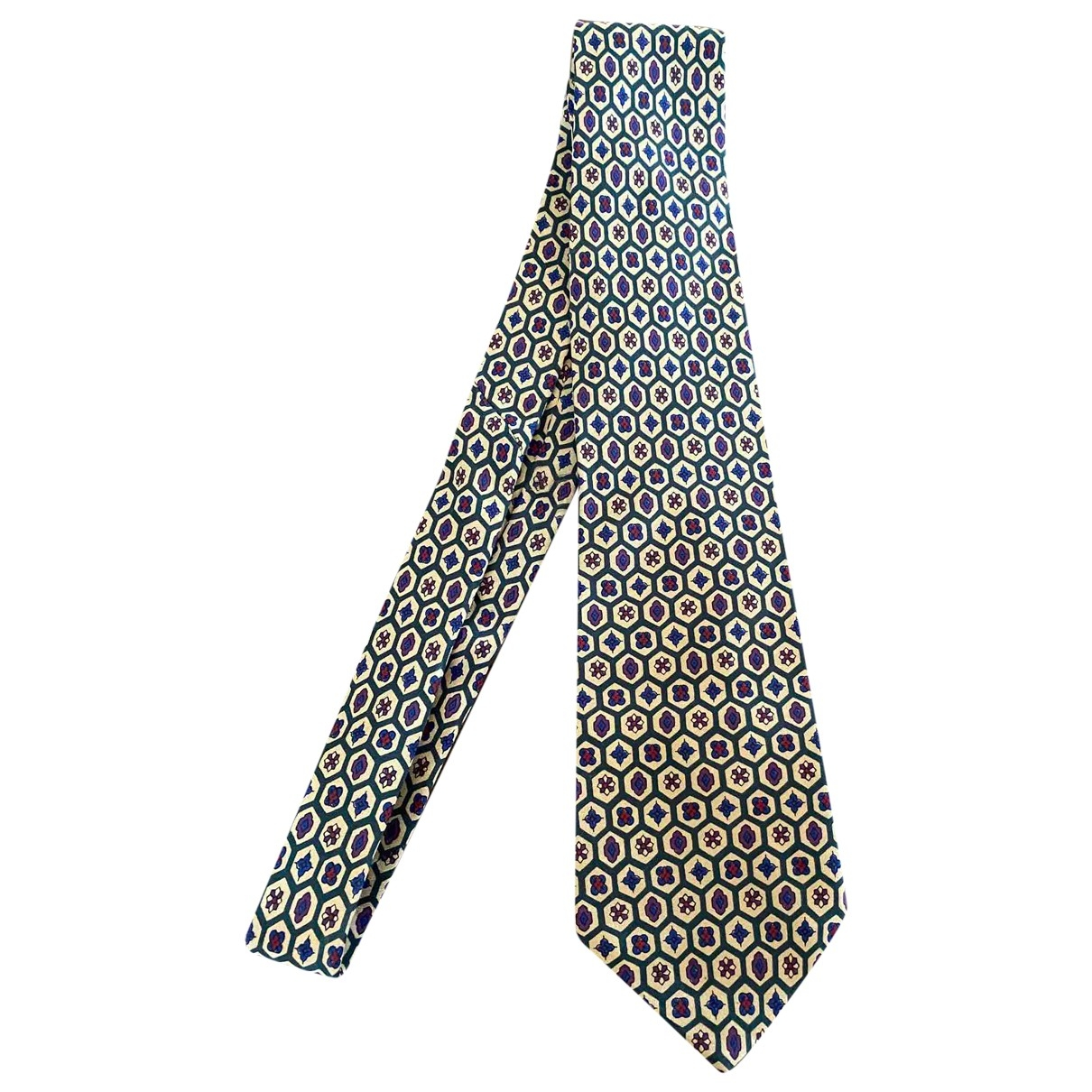 Valentino Garavani \N Yellow Silk Ties for Men \N