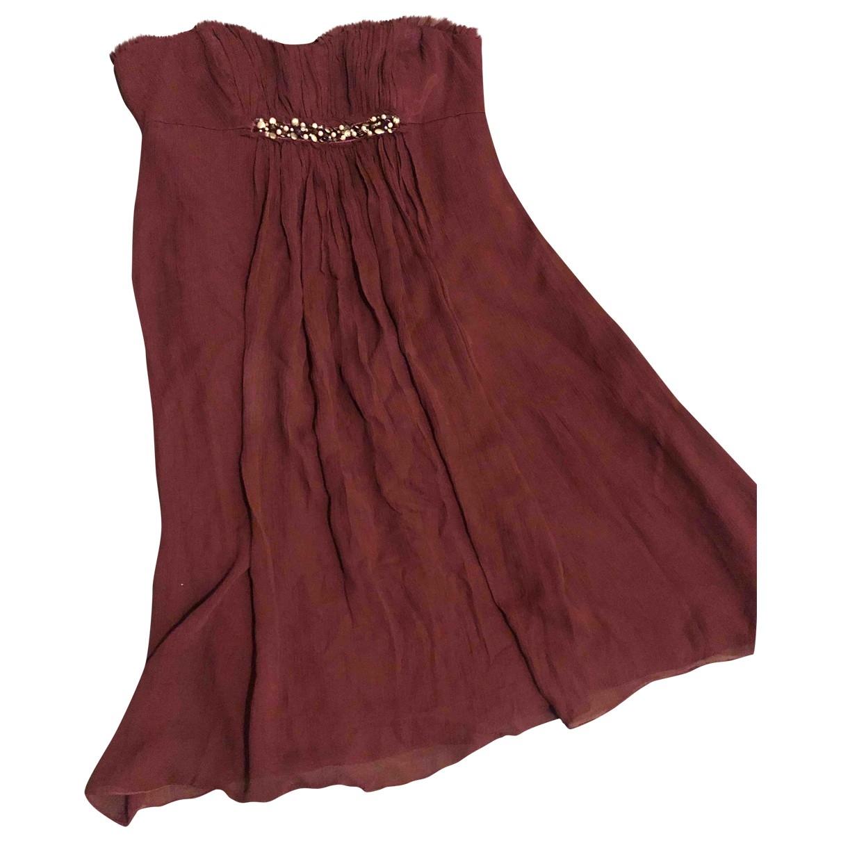 Bcbg Max Azria \N Purple Silk dress for Women 4 0-5