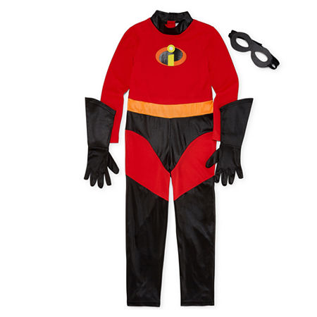 Disney Collection Incredibles Violet Costume - Girls Girls Costume, 3 , Red