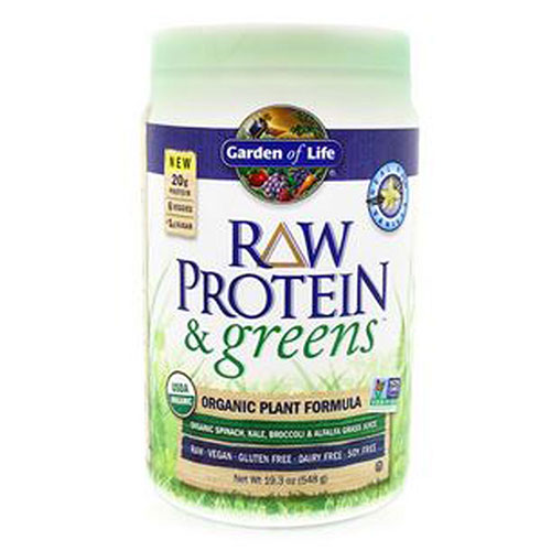 Raw Protein and Greens Vanilla 548g by Garden of Life