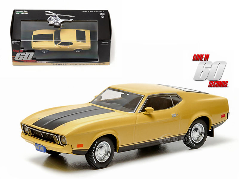 1973 Ford Mustang Mach 1 Yellow